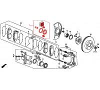 309, ремонтный комплект переднего суппорта, , 490 р., 01463-ST3-E00ZZV, ZZVF, ПЕРЕДНЯЯ ОСЬ