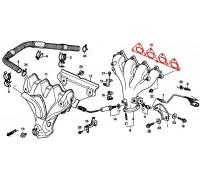 прокладка выпускного коллектора для двиг F18/F20