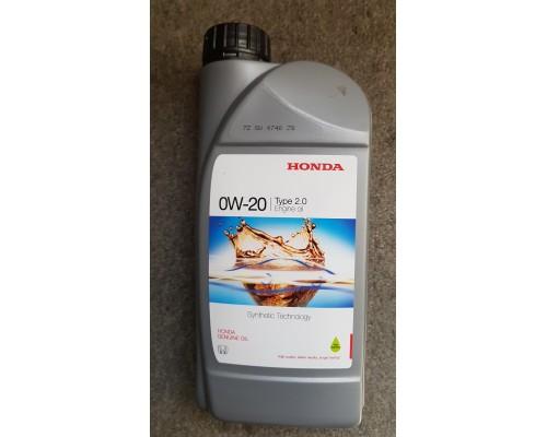 масло моторное 0W20 Honda