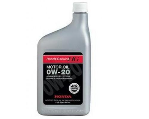 масло моторное 0W20 Honda 1Литр