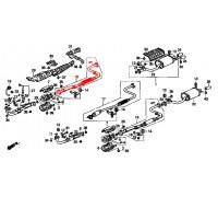 422, резонатор выхлопной системы, , 2 100 р., 18220-SM5-0924, POLMOSTROW, ВЫХЛОПНАЯ СИСТЕМА