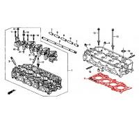 441, прокладка головки блока цилиндров Honda, , 2 970 р., 12251-PT0-J02, Honda Motor Co., ПРОКЛАДКИ ДВИГАТЕЛЯ