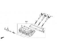 1324, свеча зажигания, , 1 980 р., 12290-R70-A01, Honda Motor Co., ДЕТАЛИ ДВИГАТЕЛЯ