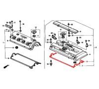 461, прокладка клапанной крышки, , 780 р., 12341-PR3-000, Honda Motor Co., ЗАПЧАСТИ ДЛЯ ЗАМЕНЫ ГРМ