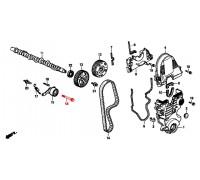 501, болт ролика ГРМ, , 390 р., 14517-PG6-000, Honda Motor Co., ДЕТАЛИ ДВИГАТЕЛЯ