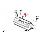523, крышка маслозаливной горловины, , 990 р., 15610-PC6-305, Honda Motor Co., КРЫШКИ