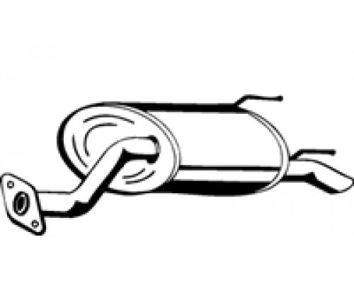 глушитель выхлопной системы