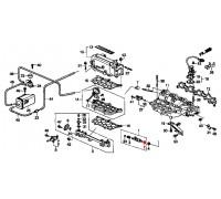 539, прокладка форсунки инжектора, , 390 р., 16472-PH7-003, Honda Motor Co., ДЕТАЛИ ДВИГАТЕЛЯ