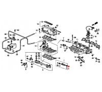 541, прокладка форсунки инжектора, , 270 р., 16474-PT2-000, Honda Motor Co., ПРОКЛАДКИ ДВИГАТЕЛЯ