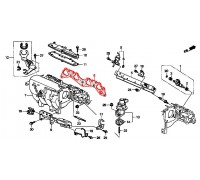 552, прокладка впускного коллектора, , 990 р., 17105-P2J-003, Honda Motor Co., ДЕТАЛИ ДВИГАТЕЛЯ