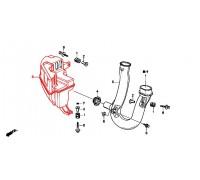 585, бачок воздушного резонатора, , 5 990 р., 17230-P3F-000, Honda Motor Co., ЖЕЛЕЗО И ВНЕШНИЙ ПЛАСТИК