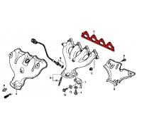 593, прокладка выпускного коллектора, , 290 р., 18115-P00-003, STONE, ПРОКЛАДКИ ДВИГАТЕЛЯ