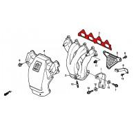 602, прокладка выпускного коллектора Honda, , 1 080 р., 18115-PT0-003, Honda Motor Co., ПРОКЛАДКИ ДВИГАТЕЛЯ