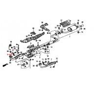 914, прокладка, , 420 р., 18212-SB2-961, Honda Motor Co., ВЫХЛОПНАЯ СИСТЕМА