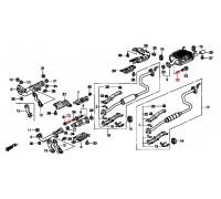 851, пружина крепления глушителя, , 300 р., 18230-SA0-930, Honda Motor Co., ВЫХЛОПНАЯ СИСТЕМА