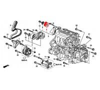 108, ролик приводного ремня обводной, , 2 390 р., 31190-RRA-A00, Honda Motor Co., ДЕТАЛИ ДВИГАТЕЛЯ
