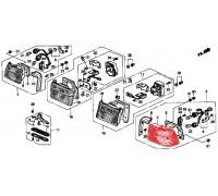 735, фонарь правый, , 1 200 р., 33501-SM4-G01, Honda Motor Co., КУЗОВНЫЕ ДЕТАЛИ,ОПТИКА