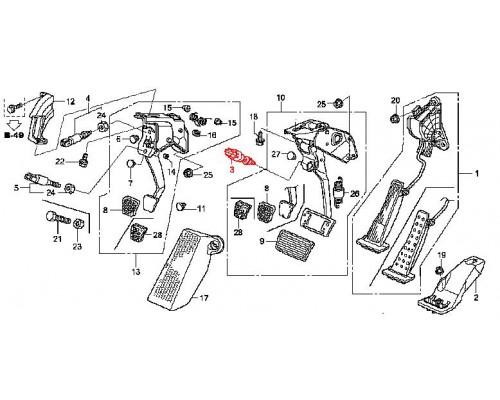 концевой выключатель педали тормоза