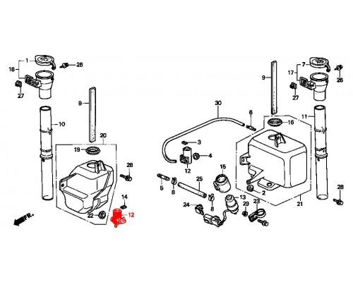 моторчик омывателя лобового стекла