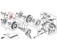 784, ролик приводного ремня, , 2 490 р., 38942-PWA-004, Honda Motor Co., ДЕТАЛИ ДВИГАТЕЛЯ