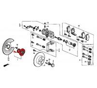 781, ступица задняя с подшипником, , 3 900 р., 42200-S1A-E02, Honda Motor Co., ЗАДНЯЯ ОСЬ