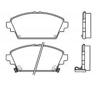 174, колодки тормозные передние комплект, , 1 980 р., 45022-S1A-E50, STARKE, ПЕРЕДНЯЯ ОСЬ