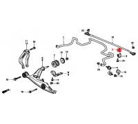 82, втулка переднего стабилизатора подвесная, , 300 р., 51306-S04-003, Honda Motor Co., ВТУЛКИ И САЙЛЕНТБЛОКИ