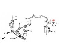81, втулка переднего стабилизатора подвесная, , 300 р., 51306-S04-N01, Honda Motor Co., ВТУЛКИ И САЙЛЕНТБЛОКИ