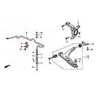 18, втулка переднего стабилизатора подвесная, , 200 р., 51306-S47-003, MASUMA, ВТУЛКИ И САЙЛЕНТБЛОКИ