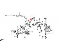 80, втулка переднего стабилизатора подвесная, , 150 р., 51306-S6D-005, RBI, ВТУЛКИ И САЙЛЕНТБЛОКИ