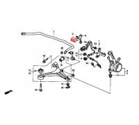 78, втулка переднего стабилизатора подвесная, , 360 р., 51306-S7B-014, Honda Motor Co., ПЕРЕДНЯЯ ОСЬ