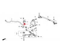 1701, втулка переднего стабилизатора подвесная, , 360 р., 51306-TE1-A01, HONDA, ВТУЛКИ И САЙЛЕНТБЛОКИ