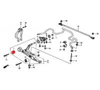 794, с/блок переднего нижнего рычага внутренний, , 450 р., 51392-SR3-024, Honda Motor Co., ВТУЛКИ И САЙЛЕНТБЛОКИ