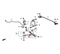 89, с/блок переднего амортизатора, , 1 080 р., 51810-TA0-A01, Honda Motor Co., ПЕРЕДНЯЯ ОСЬ