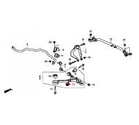 502, с/блок переднего амортизатора, , 690 р., 51810-TP6-A01, HONDA, ВТУЛКИ И САЙЛЕНТБЛОКИ