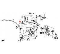 865, втулка заднего стабилизатора подвесная, , 300 р., 52306-S9A-005, Honda Motor Co., ЗАДНЯЯ ОСЬ