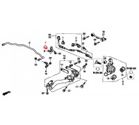 866, втулка заднего стабилизатора подвесная, , 330 р., 52306-SCV-000, FEBEST, ВТУЛКИ И САЙЛЕНТБЛОКИ