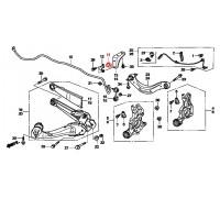 868, втулка заднего стабилизатора подвесная, , 290 р., 52306-SNG-J01, Honda Motor Co., ЗАДНЯЯ ОСЬ