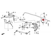 139, втулка заднего стабилизатора подвесная, , 480 р., 52306-TE0-A01, HONDA, ВТУЛКИ И САЙЛЕНТБЛОКИ