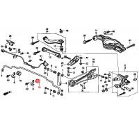 882, втулка заднего стабилизатора подвесная, , 240 р., 52315-SK7-900, Honda Motor Co., ВТУЛКИ И САЙЛЕНТБЛОКИ