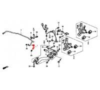 898, стойка стабилизатора задняя правая, , 4 800 р., 52320-S7B-003, Honda Motor Co., ЗАДНЯЯ ОСЬ