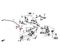 897, стойка стабилизатора задняя правая, , 600 р., 52320-S7A-003, DELTA, ЗАДНЯЯ ОСЬ