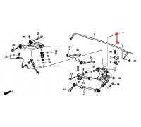 91, стойка стабилизатора задняя правая, , 490 р., 52320-TA0-A01, FUJIKAWA, ЗАДНЯЯ ОСЬ