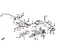 936, с/блок заднего нижнего рычага крайний, , 990 р., 52365-SK7-A02, Honda Motor Co., ВТУЛКИ И САЙЛЕНТБЛОКИ