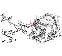 937, с/блок заднего нижнего развального рычага внутренний, , 330 р., 52365-SM4-005, VTR, ВТУЛКИ И САЙЛЕНТБЛОКИ