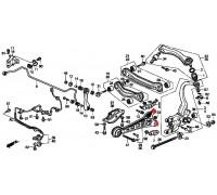 695, с/блок заднего продольного рычага маленький, , 180 р., 52371-SM4-010, RBI, ВТУЛКИ И САЙЛЕНТБЛОКИ