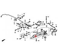 949, с/блок заднего продольного рычага, , 8 400 р., 52380-ST0-003, Honda Motor Co., ВТУЛКИ И САЙЛЕНТБЛОКИ