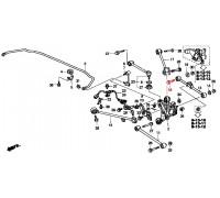 1623, болт заднего поперечного рычага, , 690 р., 52387-S84-A00, Honda Motor Co., ЗАДНЯЯ ОСЬ