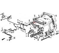 952, шайба регулировочного болта заднего рычага схождения, , 270 р., 52388-SE0-030, Honda Motor Co., ЗАДНЯЯ ОСЬ