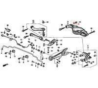 953, шайба регулировочного болта, , 270 р., 52388-SP0-000, Honda Motor Co., БОЛТЫ ПОДВЕСКИ